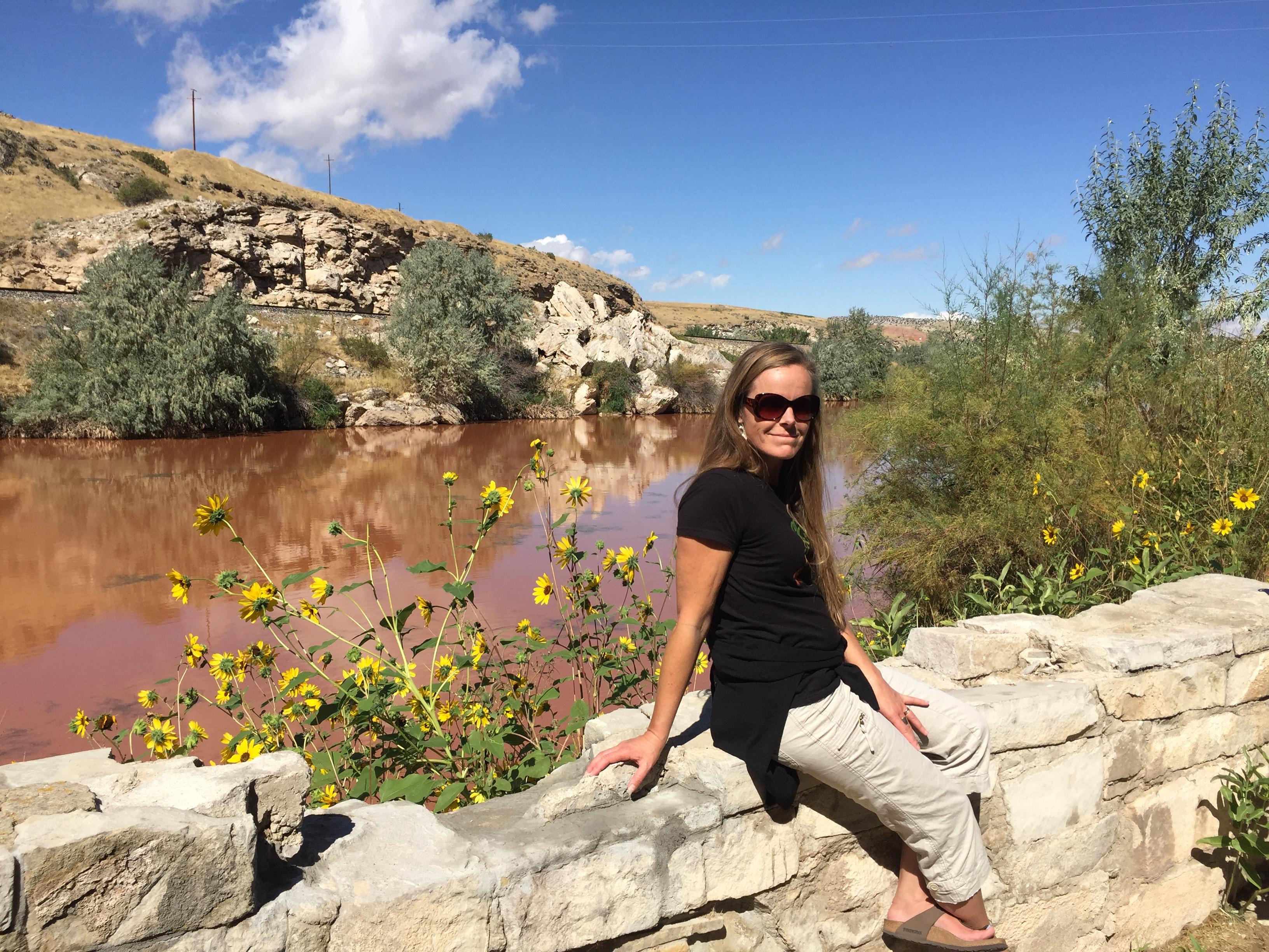 Kari at Hot Springs